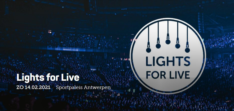 Lights for Live op 14 februari: allen daarheen!